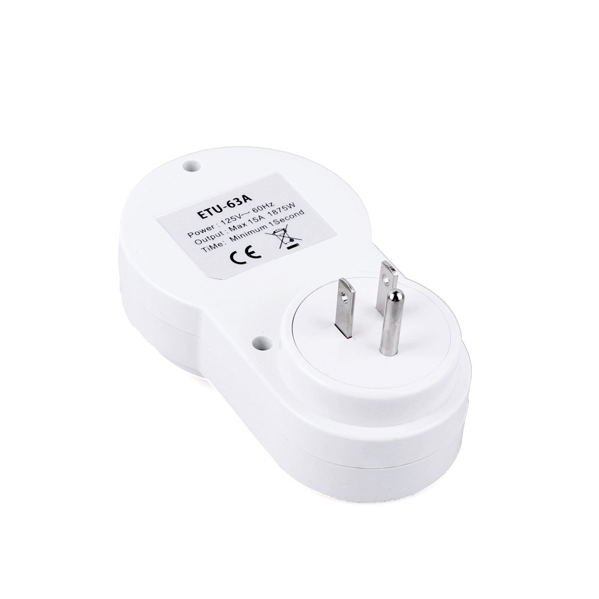 Wentop Digital Programmable Timer Socket Plug Wall Home Plug-in Switch Energy-saving Outlet - - Amazon.com