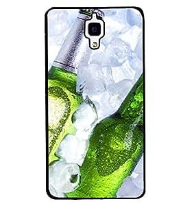 Printvisa Beer Bottles Depicting Summertime Back Case Cover for Xiaomi Redmi Mi4::Xiaomi Mi 4