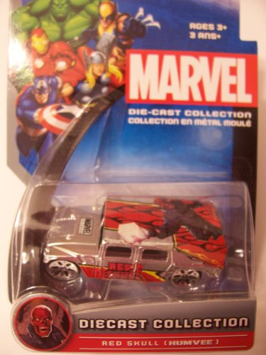 Marvel Universe Die-Cast Collection ~ Red Skull (Humvee)
