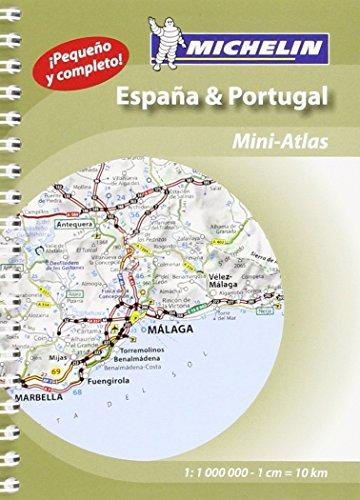 Mini Atlas España & Portugal (Atlas de carreteras Michelin)