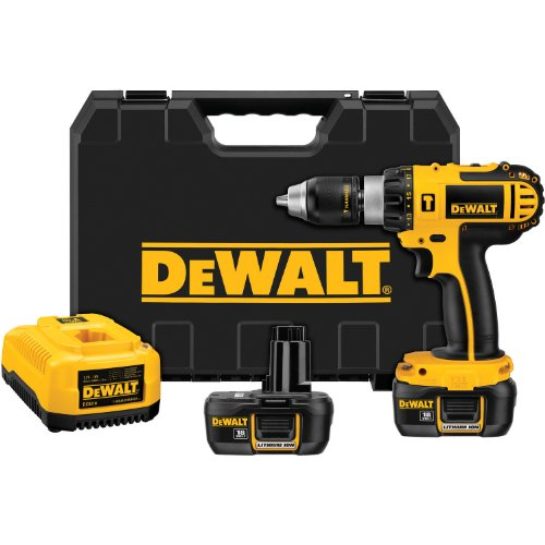 DEWALT DCD775KL 1/2Inch 18Volt Cordless Compact LithiumIon HammerDrill Kit