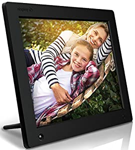 Nixplay Original 12 Inch WiFi Cloud Digital Photo Frame. iPhone & Android App, Email, Facebook, Dropbox, Instagram, Flickr, Google Photos (W12A) by nixplay