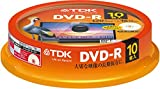 TDK 録画用DVD-R デジタル放送録画対応(CPRM) 1-16倍速対応 パールカラーディスク 10枚スピンドル DR120DALC10PUE
