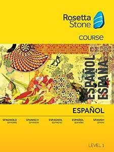 Rosetta Stone Spanish (Spain) Level 1 PC  [Download]