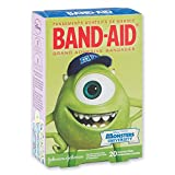 Monsters University BAND-AID Brand Kids' Bandages Featuring Favorite Children Disney Pixar Cartoon Characters - Johnson & Johnson - Assorted Sizes