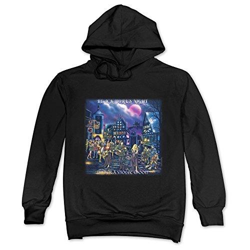 JaHa Men's Blackmore's Night Album Cover Hoodie Black
