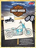 How to Draw Harley-Davidson Motorcycles: A step-by-step guide to drawing the steel, rubber, leather, and chrome of Americas hottest motorcycle (Licensed How to Draw)