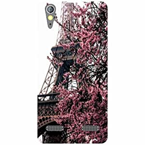 Lenovo A6000 Back Cover - Towered Up Designer Cases