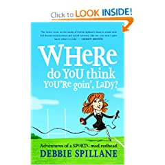 Where do you think you're goin', lady?: Adventures of a sports-mad redhead