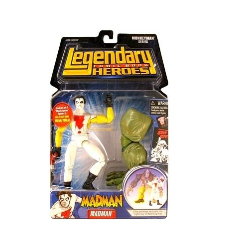 Madman (Yellow Sleeves) Action Figure - 1