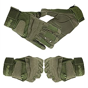 Jiam® Best Sell High Premium Full Finger Cycling Bike Climbing Bicycle Hiking Fitness Sports Tactical Gloves Outdoor for mens women children from Jiam