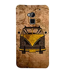 Oldest Van Zeep Cute Fashion 3D Hard Polycarbonate Designer Back Case Cover for HTC One Max :: HTC One Max Dual SIM