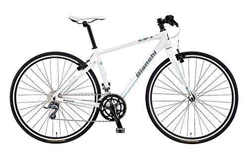 Bianchi(ビアンキ) クロスバイク ROMA 3 CLARIS (ローマ3) 2016モデル(マットホワイト) 50サイズ