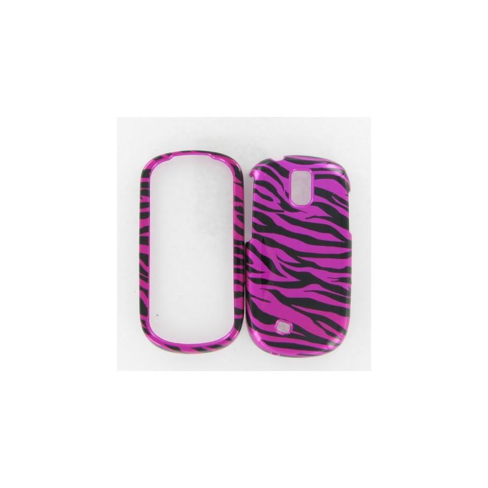 Samsung T589 Gravit Smart Zebra on Hot Pink Hot Pink/Black Protective Case
