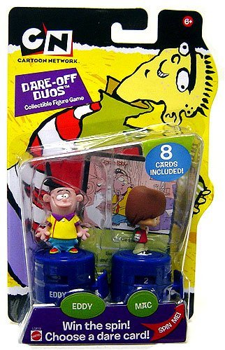 Buy Low Price Mattel Cartoon Network Dare off Duos Eddy & Mac Collectible Figures (B000P6FEPA)