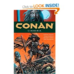 Conan Volume 7: Cimmeria (Conan (Dark Horse)) by Timothy Truman,&#32;Richard Corben,&#32;Tomas Giorello and Jose Villarrubia