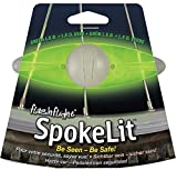 Nite Ize SpokeLit LED Wheel Light Color:Green Size:Pack of 2