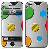 """atFoliX Designfolie """"Hard Bubbles"""" f�r Apple iPhone 5 - ohne Displayschutzfolievon """"Designfolien@FoliX"""""""