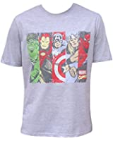 Men's Marvel Comics Avengers Superheroes Cotton T-Shirt Top