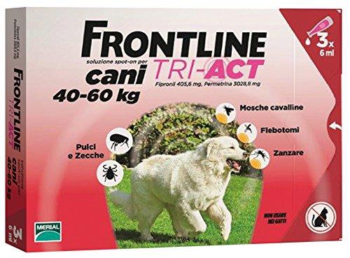 FRONTLINE TRI-ACT KG.40-60 (3P) Confezione da 1PZ