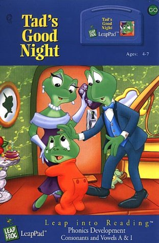 LeapPad Phonics Program Lesson 2: Tad's Good Night