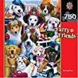 MasterPieces Jigsaw Puzzle - Working Pups 750 pc Furry Friends