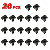 PartsSquare 20pcs Fender Liner Fastener Rivet Push Clips Retainer for Mazda MX-6 Millenia 929S 929 626 Ford Probe
