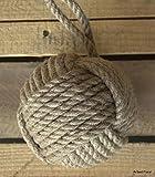 "5"" Monkey Fist Nautical Doorstop Rope Sailor Knot"