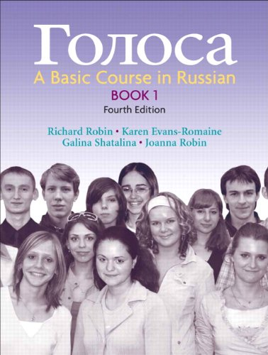Golosa: A Basic Course in Russian, Book 1 (4th Edition)...