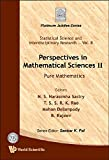 img - for Perspectives in Mathematical Sciences II: Pure Mathematics (Statistical Science and Interdisciplinary Research) book / textbook / text book