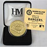 Rangers Ballpark 24KT Gold Commemorative Coin