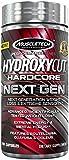 MuscleTech Hydroxycut Hardcore Next Gen, Next Generation Weight Loss & Extreme Sensory, 100 Capsules