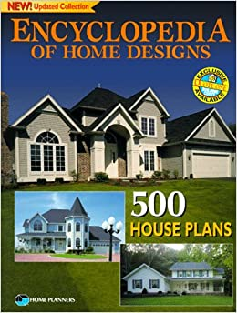 Encyclopedia of home designs 500 house plans home for Home planners inc house plans