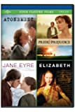 Atonement / Pride & Prejudice / Jane Eyre