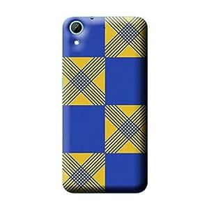 Garmor African Pattern Design Plastic Backcover for HTC Desire 728- (Txt 2)