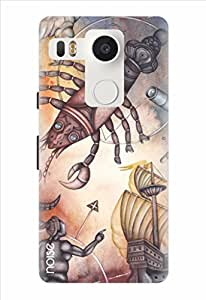 Noise Persistent Cancerians Printed Cover for LG Nexus 5X