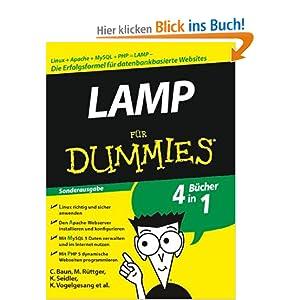 eBook Cover für  LAMP f uuml r Dummies Linux Apache MySQL PHP LAMP Sonderausgabe Fur Dummies