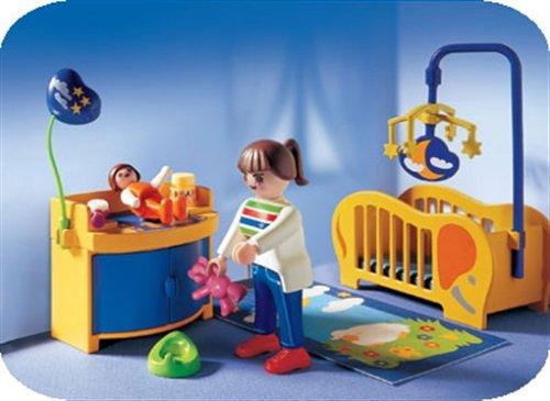 Playmobil stadtleben babyzimmer 3207 preisvergleich for Kinderzimmer playmobil