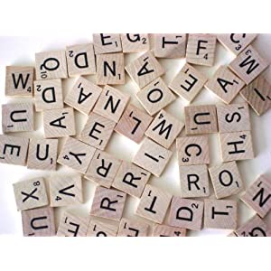 Scrabble Replacement Tiles!
