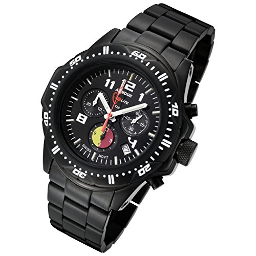 Armourlite ShatterProof Scratch Proof High Impact Glass FireFighter Edition H3 Tritium 100m Watch