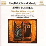 Christmas Proclamation - Tavener: Song for Athene , Svyati and other choral worksby John Tavener