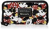 Disney Minnie Mutli Face Zip Around Wallet Shoulder Bag