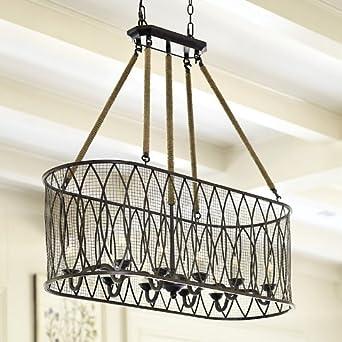Denley 10-Light Pendant Chandelier - Ballard Designs