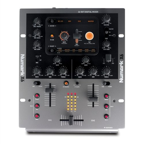 Numark X6 Digital Scratch Mixer with Effects