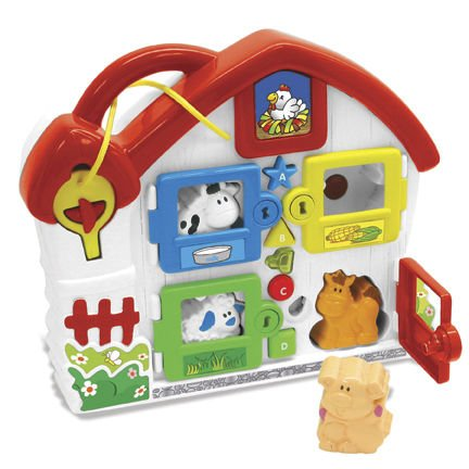 Castle Toys Sorting Barnyard Toy - 1