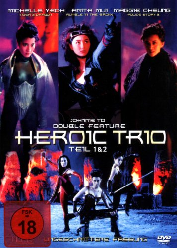 Heroic Trio - 1 & 2 - Double Feature