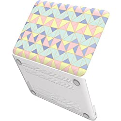 Neon Party (TM) Series iBenzer Global Designer Limited Edition Smooth Finish Plastic Hard Case Cover for Macbook Pro 13'' (A1278), Angle Quartz MPD13AGQZ