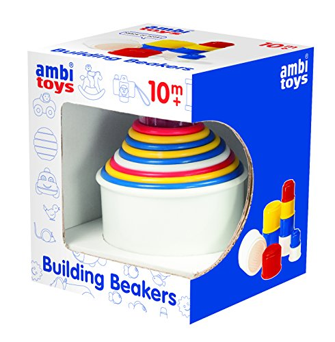 Ambi Toys Building Beakers Toy