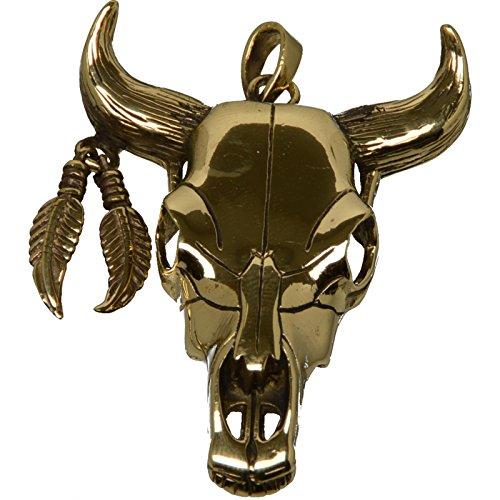 Buddha to Light Bronze ciondolo bovini teschio Skull prezzo consigliato 39,90eur