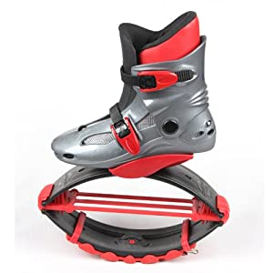 RioRand 2013 Air Kicks Anti-Gravity Running Boots Jumps boots for Kids and Teen (red,... by RioRand